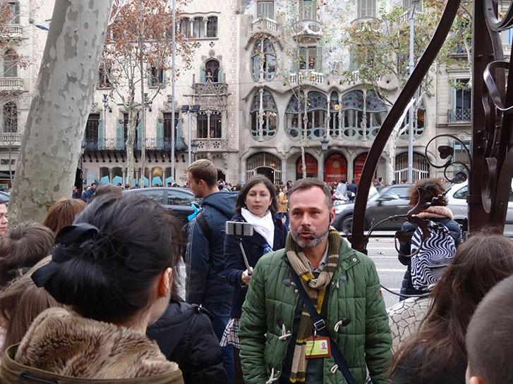 Гид в Барселоне Олег Дячок