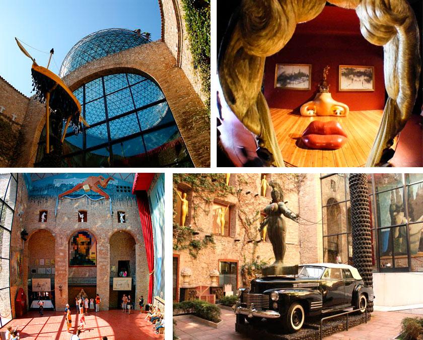 Экскурсия в музей Сальвадора Дали (фото 2)