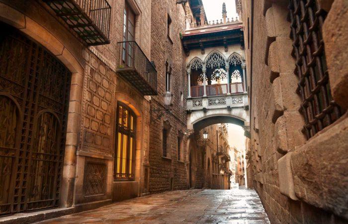 Экскурсия по Барселоне и Готический квартал (превью)