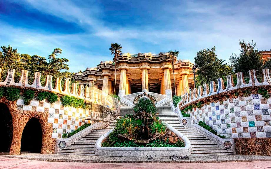 Экскурсии по Барселоне и Каталонии с гидом Олегом Дячком: Парк Гуэля