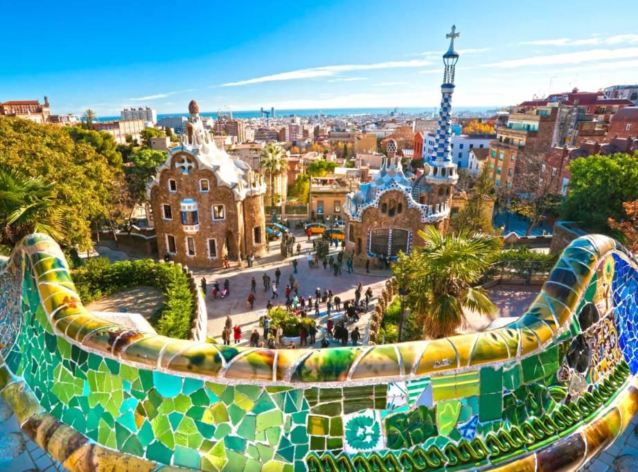 Барселона с детьми. Фото города