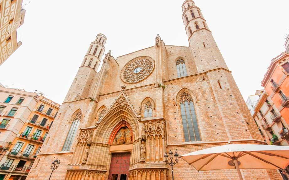 Достопримечательности Барселоны с гидом Олегом Дячком: церковь Санта-Мария-дель-Мар