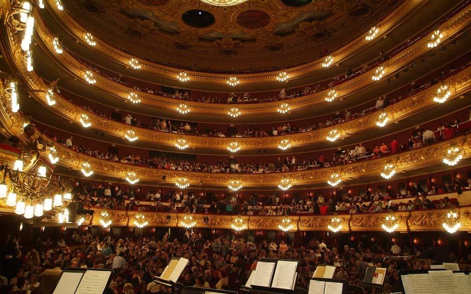 Экскурсии по Барселоне и Каталонии с гидом Олегом Дячком: Театр Лисео