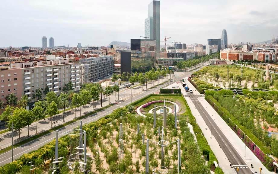 Экскурсии по Барселоне и Каталонии с гидом Олегом Дячком: Район Побленоу в Барселоне (Poblenou)