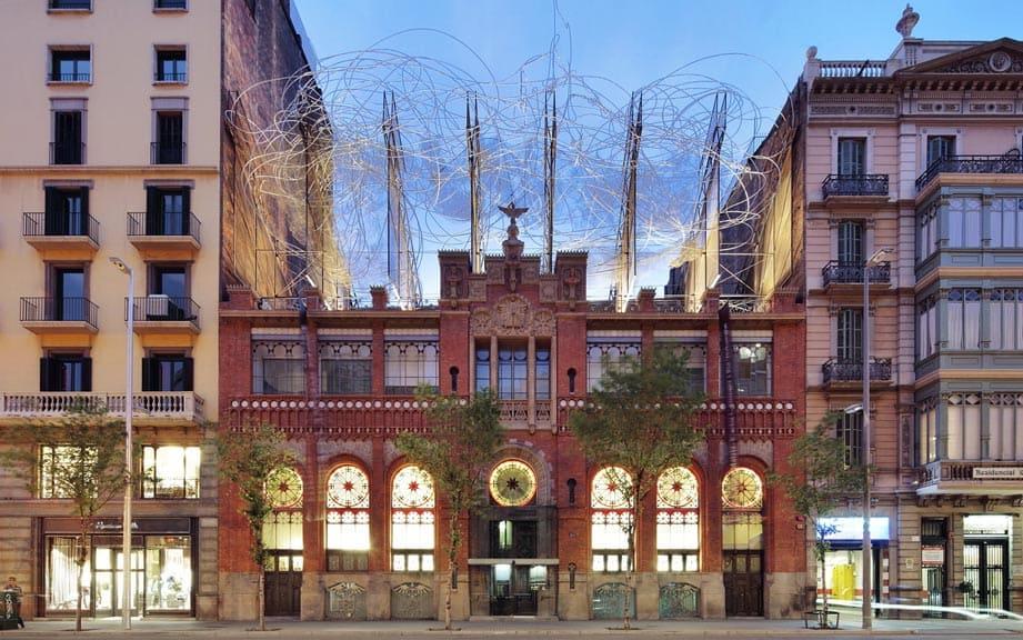 Фонд Антони Тапиеса в Барселоне